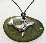 Charm Necklace Humpback Whale