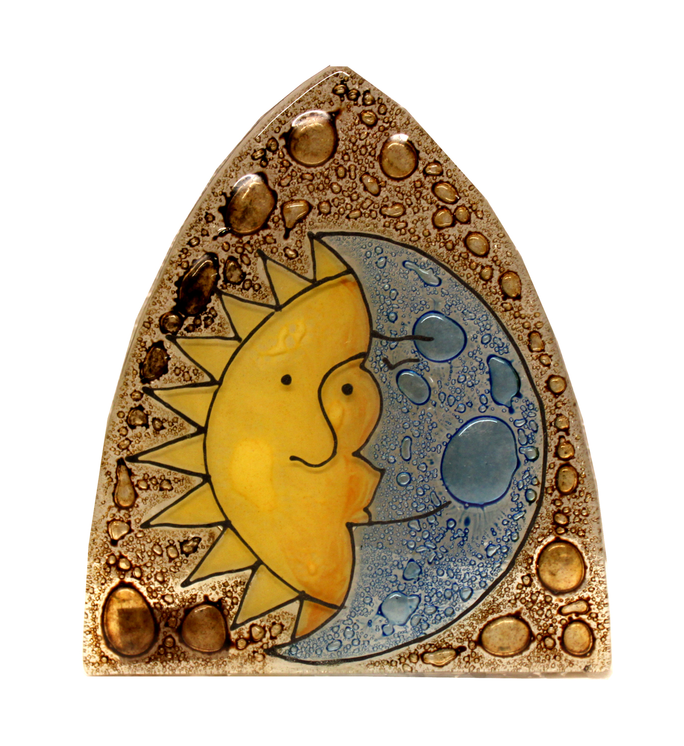 Sun & Moon Glass Nightlight