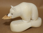 Medium Bear Tagua Carving